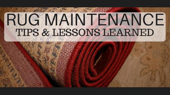 Rug Maintenance Tips