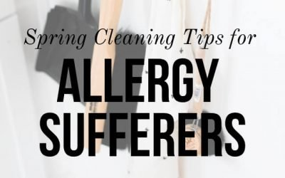 Spring Cleaning Tips for Allergy Sufferers