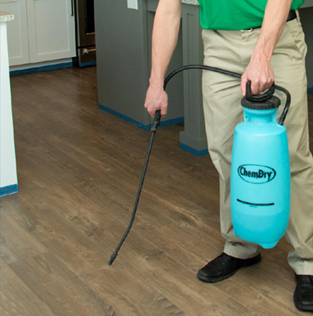 wood floor deep cleaning