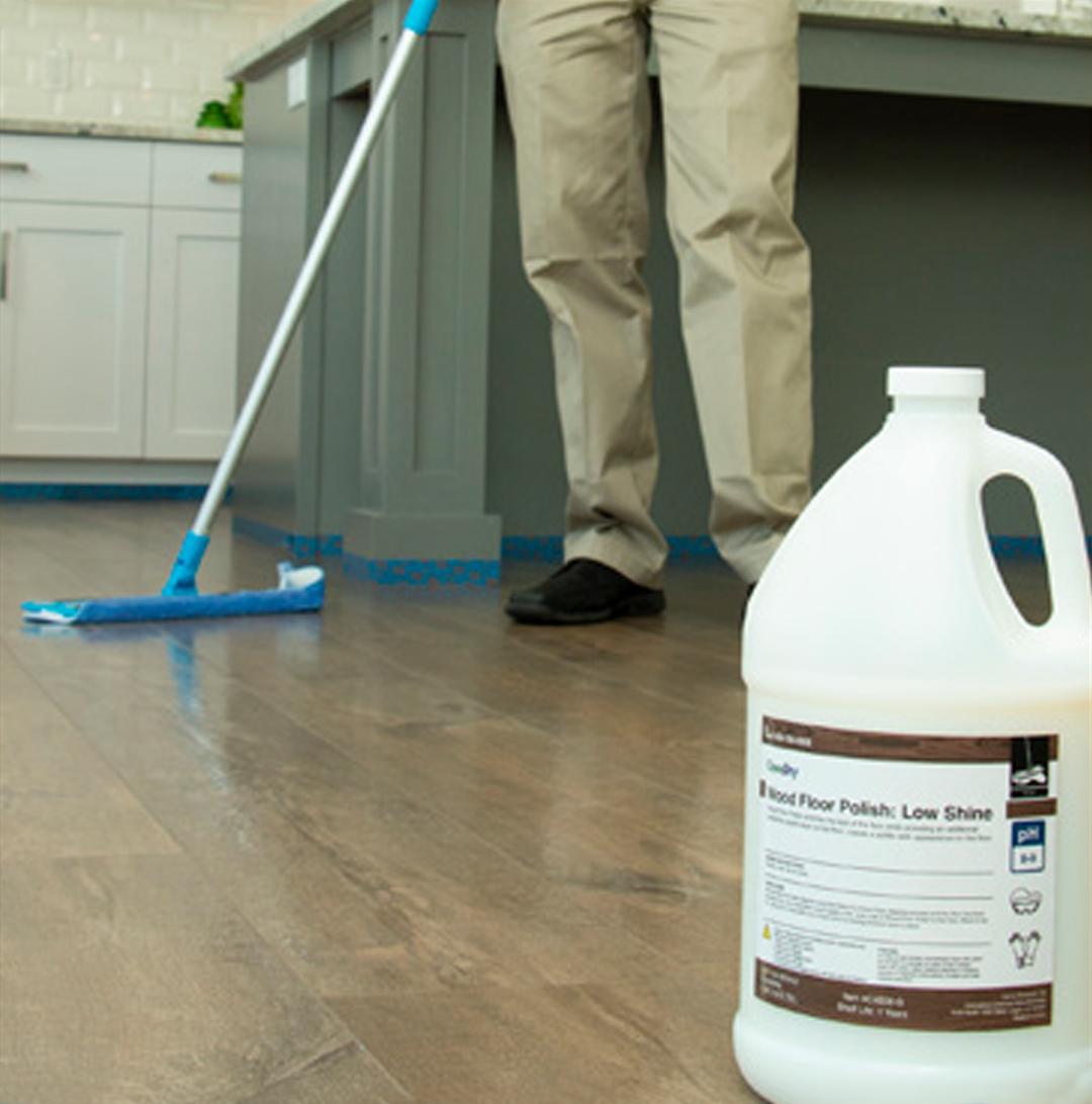 wood floor polishing service