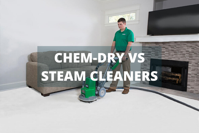 Chem-Dry Vs. Steam Cleaners