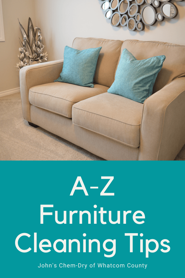 Furniture Cleaning Tips from Bellingham Upholstery Cleaners