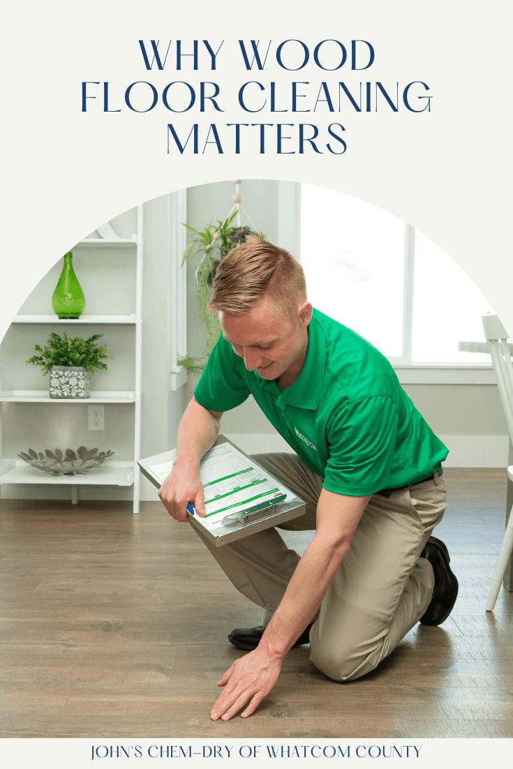 A professional wood floor cleaner in bellingham, wa