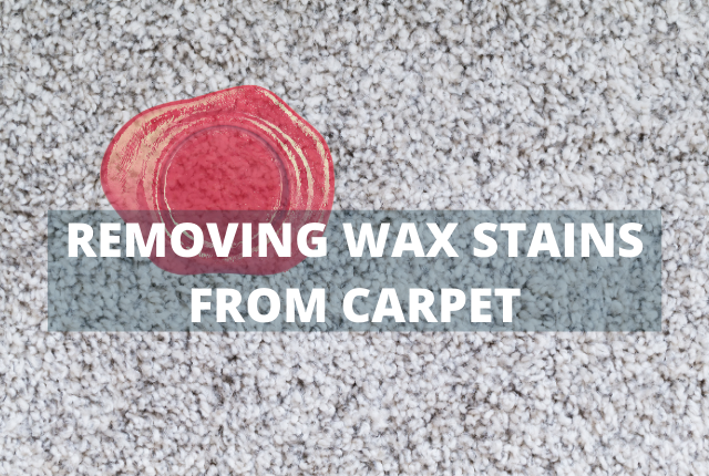Removing Wax From Carpet